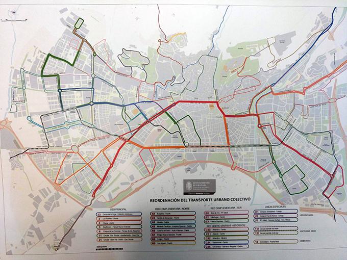 plano mapas buses