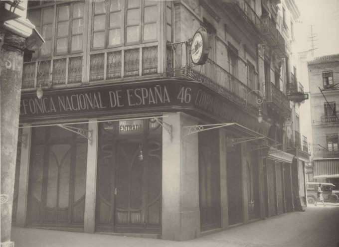 Central telefónica de Granada. (1)