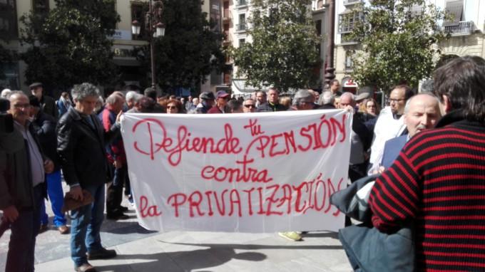 plataforma defensa pensiones Granada