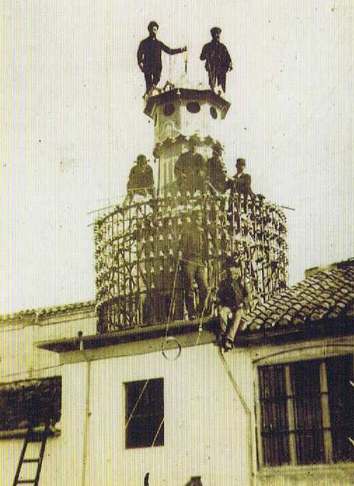 Torre de la primera central telefónica de Granada en la calle Hileras nº 2 (1)