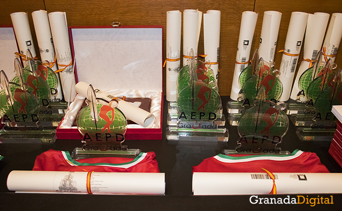 galardon - gala deporte - caja rural - premio