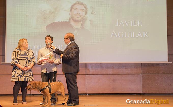 javier aguilar - gala deporte - caja rural - premio