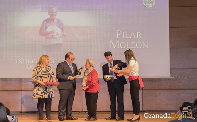 pilar moleon - gala deporte - caja rural - premio