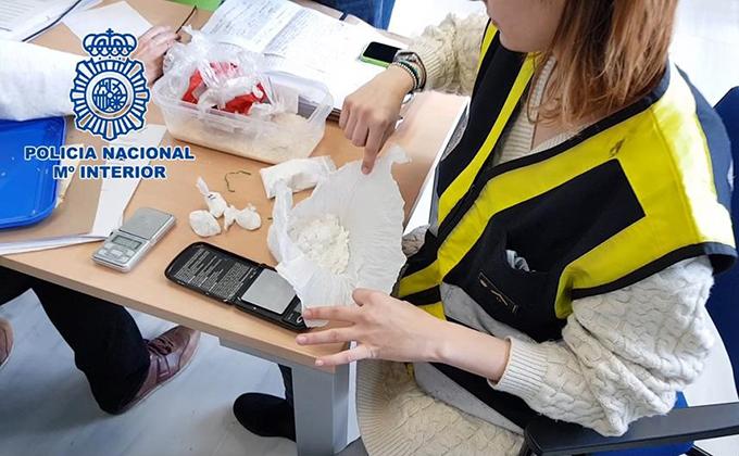 policia nacional cocaina