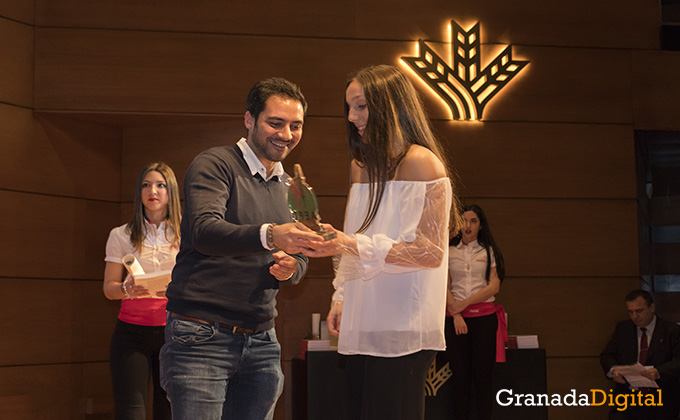 tamara frias- gala deporte - caja rural - premio