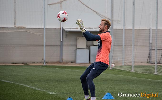Entrenamiento Granada Club de Futbol B-14