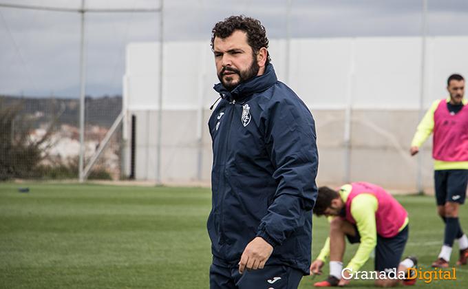 Entrenamiento Granada Club de Futbol B-42
