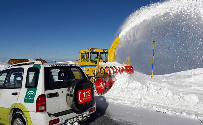 quitanieves hoya de la mora sierra nevada