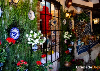 Floristería Nenúfar, tercer premio en la categoría de escaparates