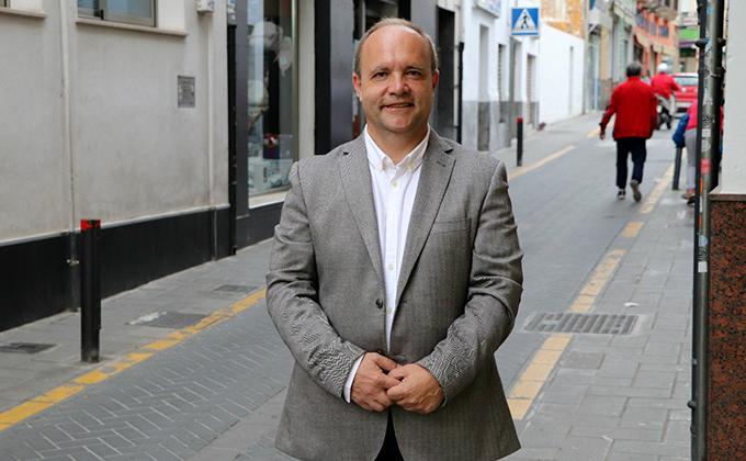 El portavoz de Cs en el Ayuntamiento de Maracena, Manuel García