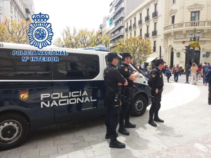 refuerzos policia nacional