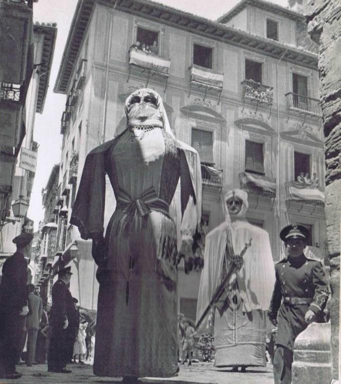 Gigantes en el Corpus del año 1956