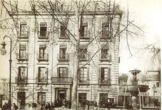 Hotel Alameda en la plaza del Campillo - Efemérides granadinas