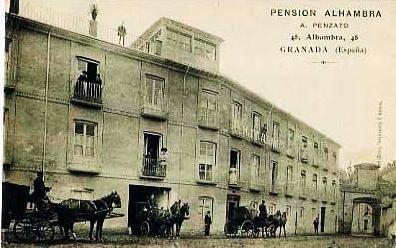 Pensión Alhambra-Efemérides Granadinas