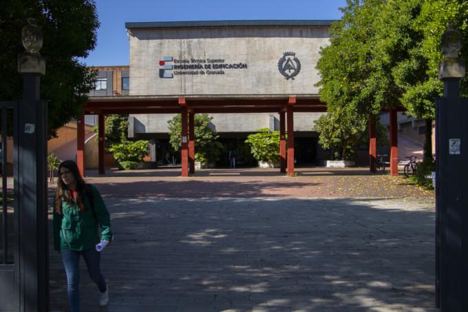 fuente nueva - escuela tecnica superior edificicacion - ugr - universidad - paseillos