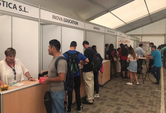 Foto Cámara Feria Empleo 2017