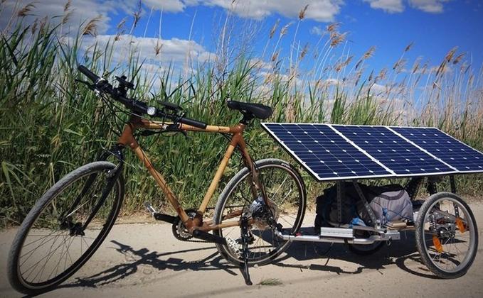 bici placa sola