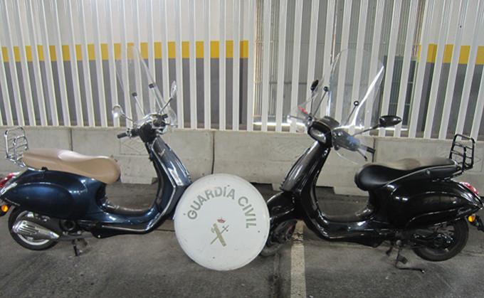 motos robadas motril