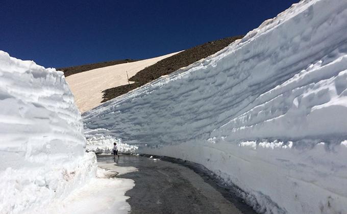 sierra nevada nieve junio