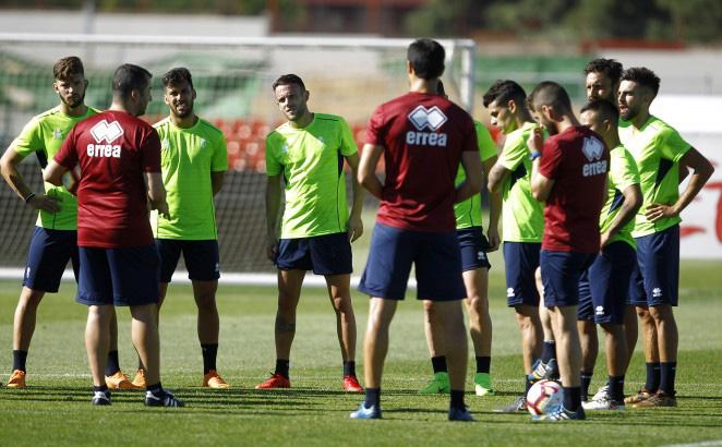 Granada cf entrenamiento