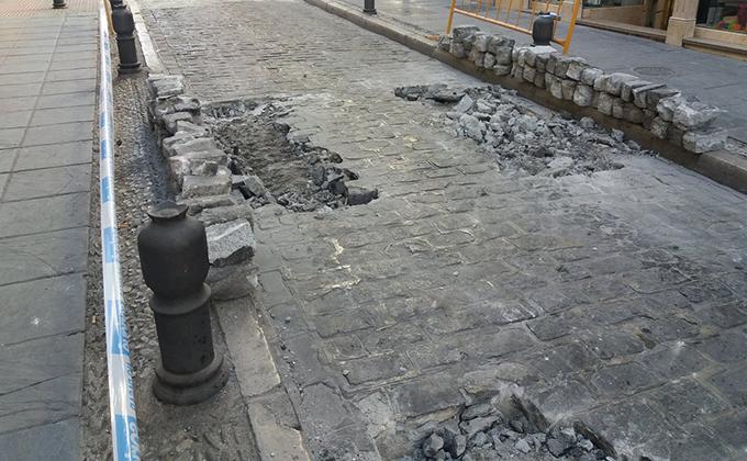 calle san antón obras