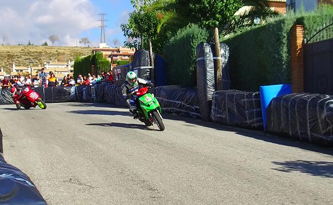 cricuito scooter huetor vega
