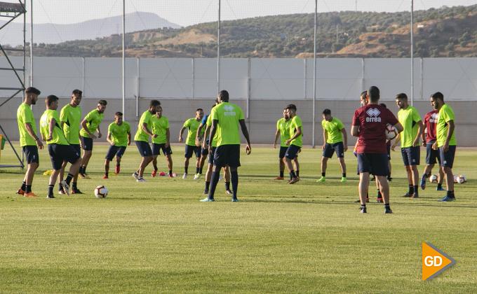 primer entrenamiento Granada CF 02