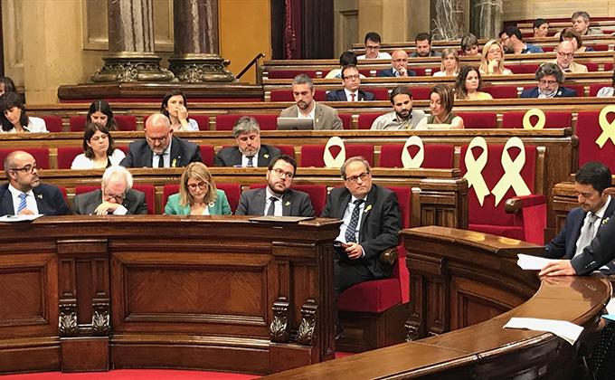 quim torra consellers parlament