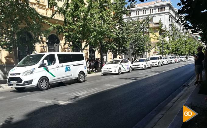 taxis-granada-huelga