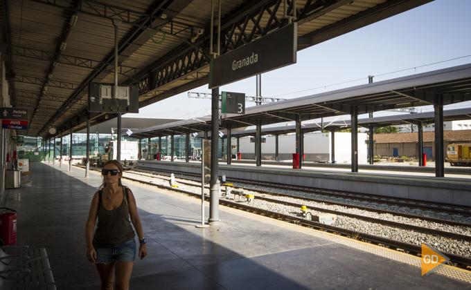 Estación de trenes granada Foto Antonio L Juarez-6827