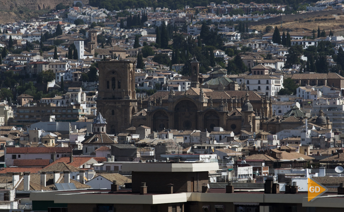 Granada centro de la ciudad.
