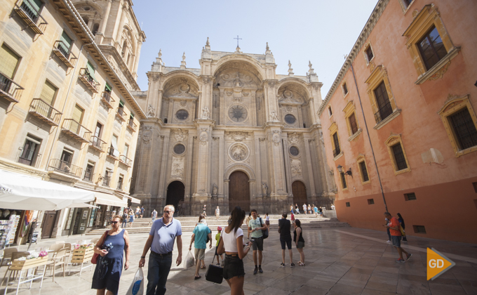 Granada centro de la ciudad. Catedral