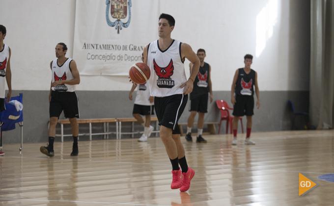 Eloy Almazán Covirán Primer entrenamiento del Fundación CB Granada de la temporada 2018-19 Foto Antonio L Juarez-6942
