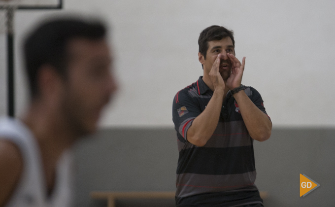 Pablo Pin Primer entrenamiento del Fundación CB Granada de la temporada 2018/19