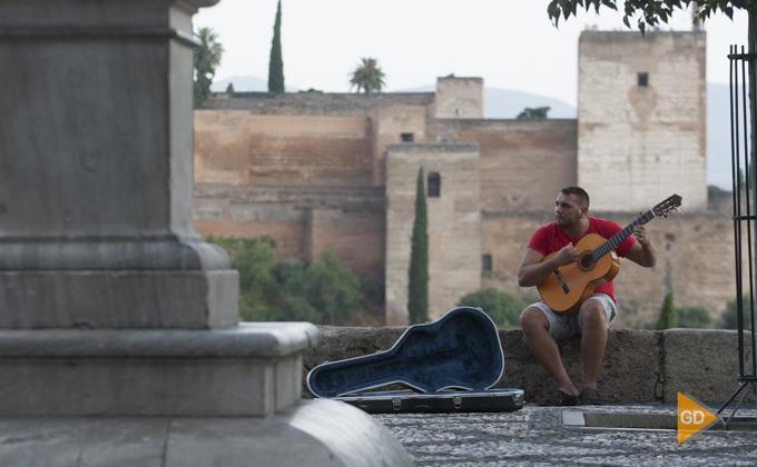 barrio Albaicin, paseo de los tristes y carrera del Darro en Granada