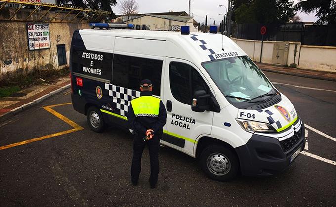 furgon policia local