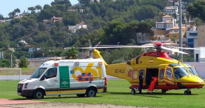 helicoptero de asistencia - 061