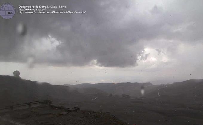 mal tiempo SIERRA NEVADA
