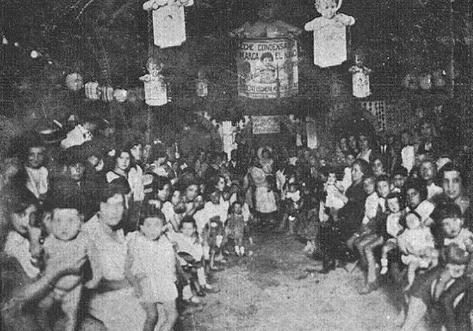 1927-concurso belleza infantil-barrio de Gracia