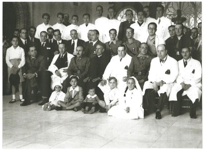 CUADRO MEDICO-MILITAR 1939
