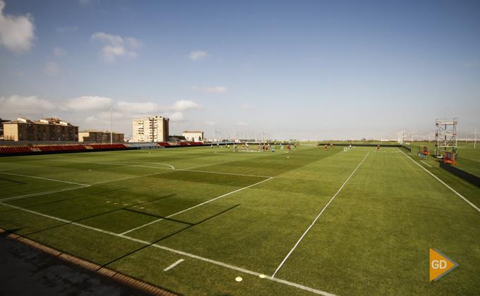 Entrenamiento del Granada CF ciudad deportiva