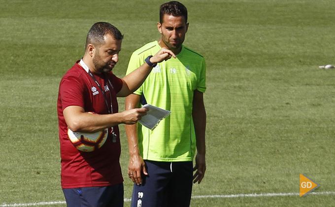 Entrenamiento del Granada CF Montoro Diego Martinez