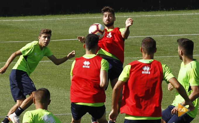 Entrenamiento del Granada CF Pozo Fede Vico