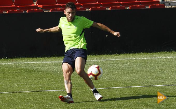 Entrenamiento del Granada CF Quini