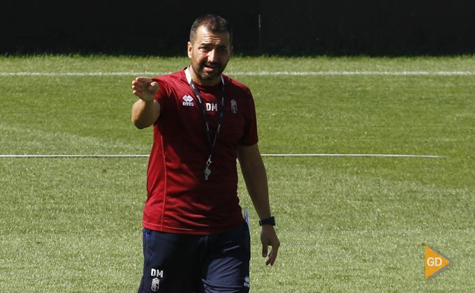 Entrenamiento del Granada CF Diego Martinez