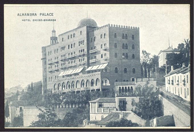 Hotel en 1910
