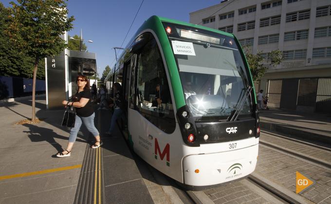 Huelga del metropolitano de Granada