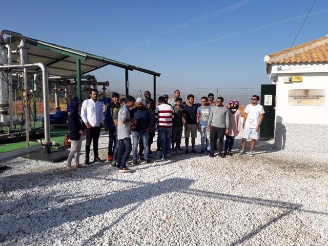 Kassel alumnos biogas