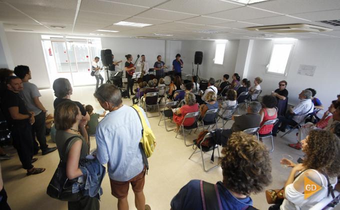 Presentación de la nueva escuela de jazz en el centro municipal el Gallo