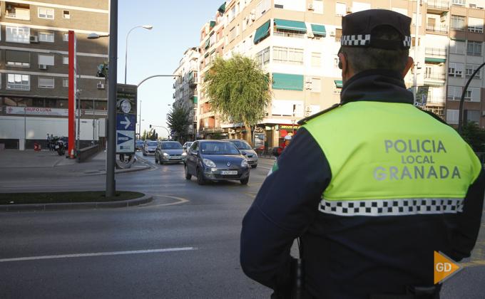 Trafico en Granada